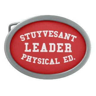 STUYVESANT LEADER PHYSICAL ED. OVAL BELT BUCKLE