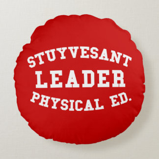 STUYVESANT LEADER PHYSICAL ED. ROUND PILLOW