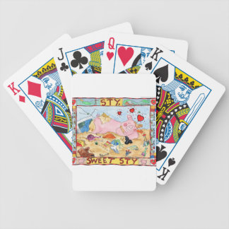 Sty, Sweet Sty Bicycle Playing Cards