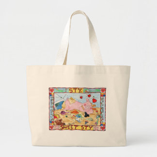 Sty, Sweet Sty Large Tote Bag