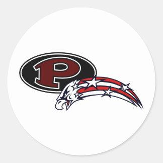 Styfa Pearland Eagles & Oilers Under 12 Classic Round Sticker