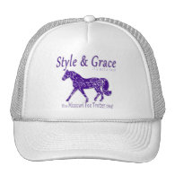Style and Grace Missouri Fox Trotter Thing Hats