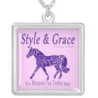 Style and Grace Missouri Fox Trotter Thing Pendants