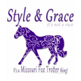 Style and Grace Missouri Fox Trotter Thing shirt