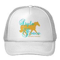 Style and Grace Missouri Fox Trotting Horse Trucker Hat