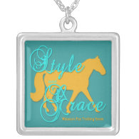 Style and Grace Missouri Fox Trotting Horse Necklaces