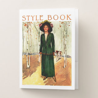 Style Book Pocket Folder
