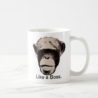 Style Chimp in Glasses Coffee Mug
