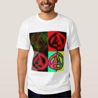 style Circled A's T Shirts