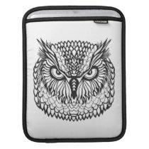 Style Eagle Owl Head Sleeve For iPads