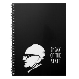 Style Enemy of the State with Murray Rothbard Libretas