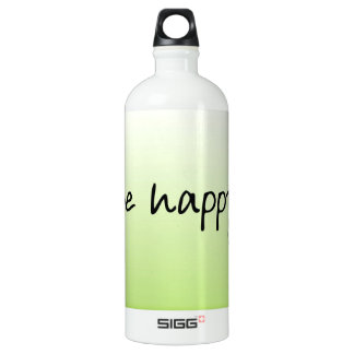 Style Fashion Happy Bliss Nice Quote Water Bottle