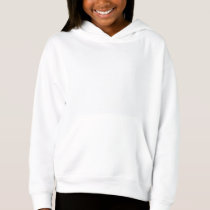 Style: Girls' Fleece Pullover Hoodie Add a pop of