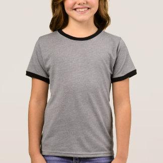 Style: Girl's Ringer T-Shirt A vintage-inspired ri