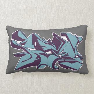 style graf  v2 blue pillow