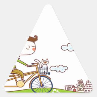 Style & Happy Triangle Sticker