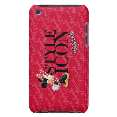 Style Icon Minnie Barely There iPod Cases