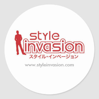 """Style Invasion"" stickers"