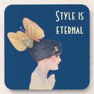 Style is Eternal Drink Coaster
