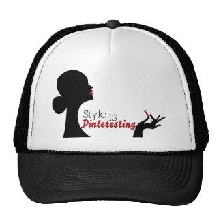 Style Is Pinteresting Trucker Hat
