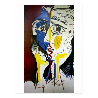 Style Kiss Postcard