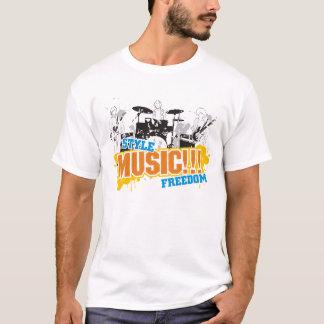 Style ... Music ... Freedom ... T-Shirt