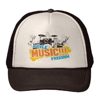 Style ... Music ... Freedom ... Trucker Hat