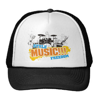 Style Music Freedom Trucker Hat