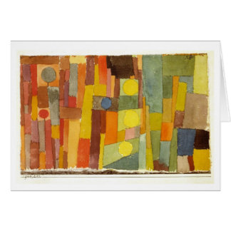 Style of Kairouan by Paul Klee Stationery Note Card