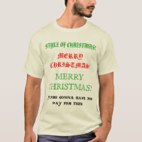 Style of Merry Christmas T-Shirt
