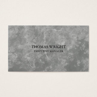 Style Plain Simple Grey Pattern Professional Business Card