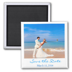 Style Save The Date Magnet at Zazzle