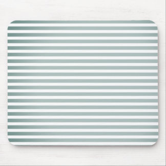 """""""Style"""" Silver-Fog-White Stripes-Unisex Mouse Pad"""