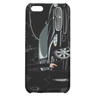 Style Sleek ( Black ) iphone 4 iPhone 5C Cases