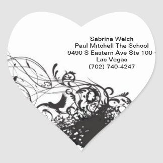 Style Heart Sticker