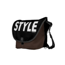 text, typography, text design, style, styleuniversal, Rickshaw messenger bag with custom graphic design
