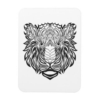 Style Tiger Head Magnet