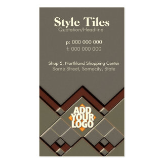 Style Tiles Business Card