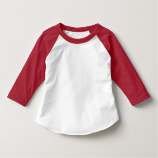 Style: Toddler American Apparel 3/4 Sleeve Raglan T-Shirt