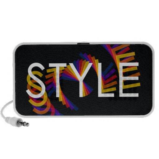 Style twirl speakers
