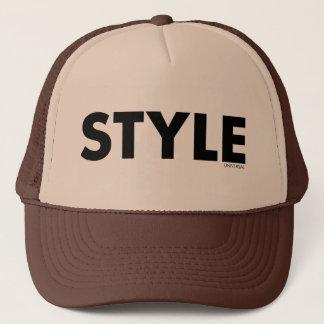 Style typography design trucker hat