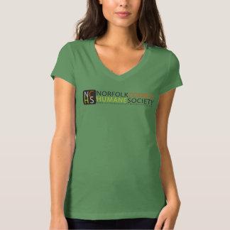 Style: Women's Bella Jersey V-Neck T-Shirt