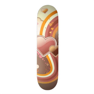 Styled design background skateboard deck