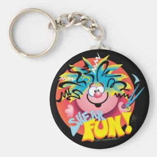 StyleStickers™ Shear Fun Keychain