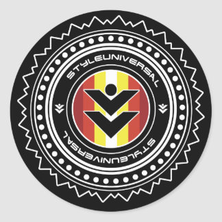 Styleuniversal brand shield sticker