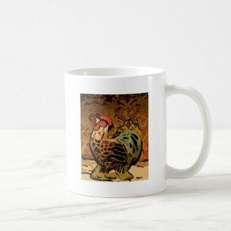 Stylin Chicken Classic White Coffee Mug