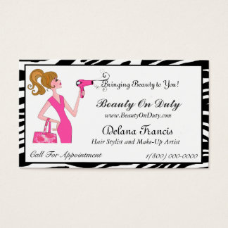 Stylin' Diva Business Cards