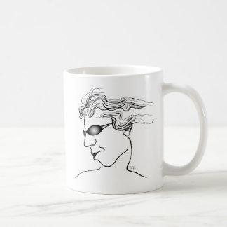 Stylin' Oval Dude Classic White Coffee Mug