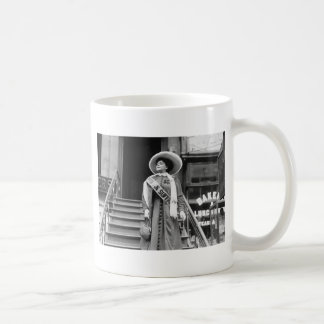 Stylin' Suffragette, 1908 Coffee Mug