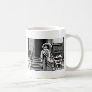 Stylin' Suffragette, 1908 Coffee Mug
